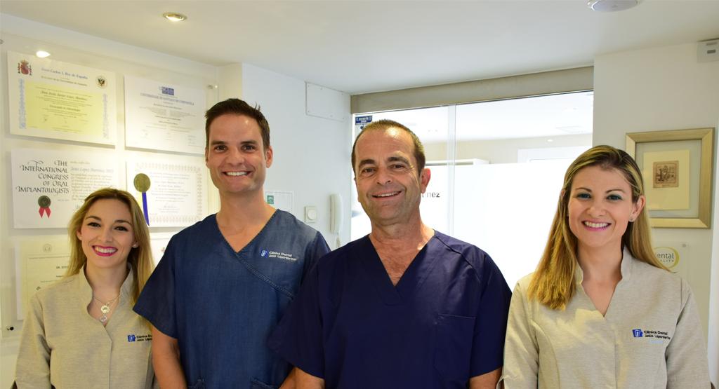 Equipo de Trabajo Clínica Dental Jesús López Martínez